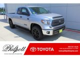 2020 Silver Sky Metallic Toyota Tundra TSS Off Road Double Cab #135032666