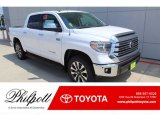 2019 Super White Toyota Tundra Limited CrewMax 4x4 #135032664