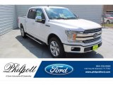 2019 White Platinum Ford F150 XLT SuperCrew #135051595