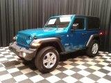 2020 Jeep Wrangler Bikini Pearl