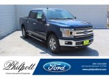 2019 Blue Jeans Ford F150 XLT SuperCrew 4x4 #135051592