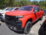 2020 Red Hot Chevrolet Silverado 1500 LT Trail Boss Crew Cab 4x4 #135051540