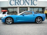 2008 Jetstream Blue Metallic Chevrolet Corvette Coupe #13495867