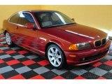 2000 Siena Red Metallic BMW 3 Series 328i Coupe #13501650