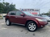 2007 Sunset Red Pearl Metallic Nissan Murano SE AWD #135051529