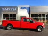 2016 Race Red Ford F150 XL SuperCab 4x4 #135051581