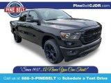 2020 Diamond Black Crystal Pearl Ram 1500 Big Horn Night Edition Crew Cab 4x4 #135068343