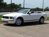 2007 Performance White Ford Mustang V6 Deluxe Convertible #1347868
