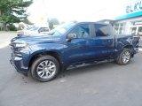 2019 Northsky Blue Metallic Chevrolet Silverado 1500 RST Crew Cab 4WD #135088350