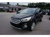 2019 Agate Black Ford Escape Titanium 4WD #135088444