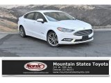 2017 Oxford White Ford Fusion Hybrid SE #135098192