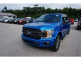 2019 Velocity Blue Ford F150 XLT SuperCrew 4x4 #135098471