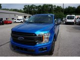 2019 Velocity Blue Ford F150 XLT SuperCrew 4x4 #135098457