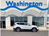 2019 Platinum White Pearl Honda CR-V EX-L #135098285