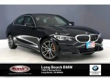 2019 Jet Black BMW 3 Series 330i Sedan #135139378