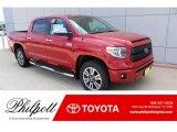2019 Barcelona Red Metallic Toyota Tundra Platinum CrewMax 4x4 #135139370