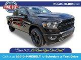 2020 Diamond Black Crystal Pearl Ram 1500 Big Horn Night Edition Crew Cab 4x4 #135139311