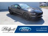 2019 Shadow Black Ford Mustang EcoBoost Fastback #135154590