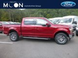2019 Ruby Red Ford F150 Lariat SuperCrew 4x4 #135154563