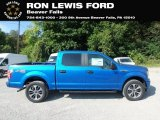 2019 Velocity Blue Ford F150 STX SuperCrew 4x4 #135154467