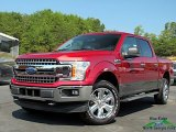 2019 Ruby Red Ford F150 XLT SuperCrew 4x4 #135154370