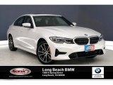 2019 Mineral White Metallic BMW 3 Series 330i Sedan #135139380