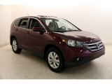 2014 Basque Red Pearl II Honda CR-V EX AWD #135177966