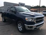 2019 Patriot Blue Pearl Ram 1500 Big Horn Quad Cab 4x4 #135177924