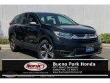 2018 Crystal Black Pearl Honda CR-V LX #135177886