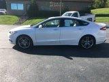 2015 Oxford White Ford Fusion Titanium #135192018