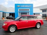 2010 Red Candy Metallic Ford Flex SEL #135197551