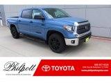 2020 Cavalry Blue Toyota Tundra TSS Off Road CrewMax #135223631