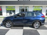 2018 Obsidian Blue Pearl Honda CR-V EX-L #135223718