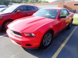 2011 Race Red Ford Mustang V6 Premium Convertible #135223593