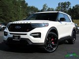 2020 Star White Metallic Tri-Coat Ford Explorer ST 4WD #135223397