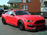 Race Red Ford Mustang in 2019