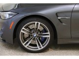 BMW M4 2018 Wheels and Tires