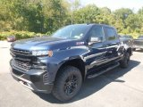 2020 Northsky Blue Metallic Chevrolet Silverado 1500 LT Trail Boss Crew Cab 4x4 #135264660