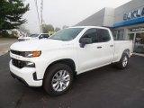 2020 Summit White Chevrolet Silverado 1500 Custom Double Cab 4x4 #135264579