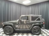 2010 Natural Green Pearl Jeep Wrangler Sahara 4x4 #135264513
