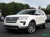 2019 White Platinum Ford Explorer Platinum 4WD #135264507