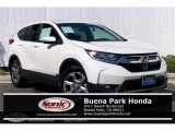 2017 White Diamond Pearl Honda CR-V EX-L #135288237