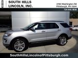 2019 Ingot Silver Ford Explorer Limited 4WD #135288229