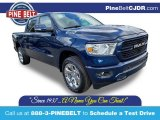 2020 Patriot Blue Pearl Ram 1500 Big Horn Crew Cab 4x4 #135288119
