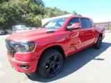2020 Flame Red Ram 1500 Big Horn Night Edition Crew Cab 4x4 #135288293