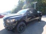 2020 Diamond Black Crystal Pearl Ram 1500 Big Horn Night Edition Crew Cab 4x4 #135288292