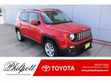 2017 Colorado Red Jeep Renegade Latitude #135306347