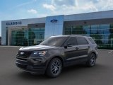 2019 Agate Black Ford Explorer Sport 4WD #135306369