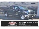 2019 Midnight Black Metallic Toyota Tundra SR5 CrewMax 4x4 #135314631