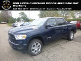 2019 Patriot Blue Pearl Ram 1500 Big Horn Crew Cab 4x4 #135314692